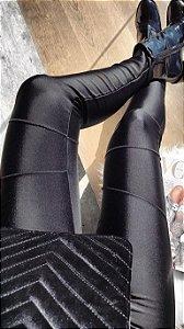 Calça Skinny Cirrê Power Preta