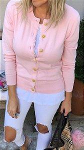 Cardigan Megan Rosa