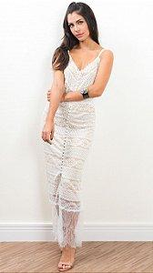 Vestido Renda Bianza Branco