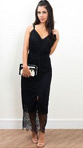 Vestido Renda Bianza Preto