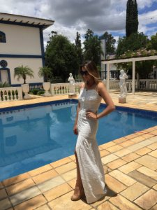 Vestido Longo de Laise Angelina