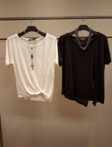 T-Shirt Viscoline Nó Line