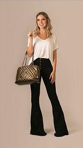 Calça Jeans Flare Stella