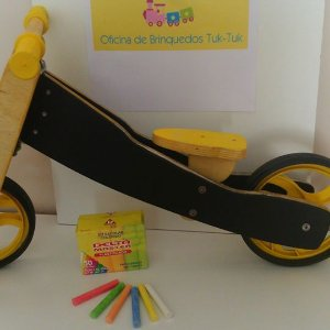 Bicicleta de Equilíbrio – Quadro de lousa