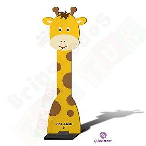Totem Dispensador Infantil de Alcool em gel - Girafa