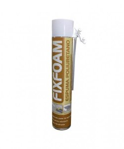 ESPUMA PU 750 ML MANUAL - FIXFOAM