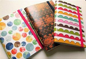 Caderninhos sem pauta / Sketchbooks - Ondas e Bolas