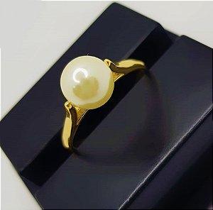 Anel Pérola Luxury Banhado em Ouro18k (SKU: 00011005)