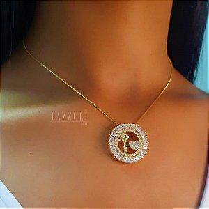 Colar Mandala Filhos Luxury Banhado em Ouro18k