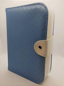 Maleta Porta Joias Azul Tiffany