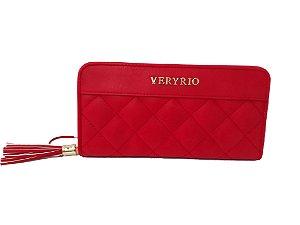 Carteira Veryrio vermelha