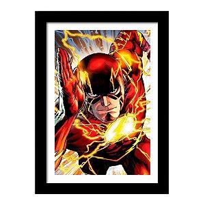 Quadro Decorativo Super Heróis Liga da Justiça - Flash - DC Comics