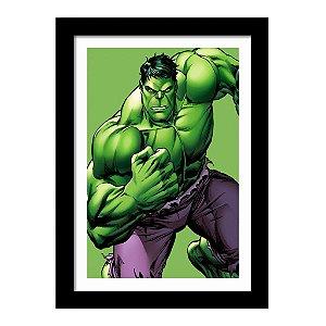 Quadro Decorativo Super Heróis Os Vingadores - Hulk - Marvel