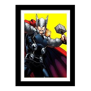 Quadro Decorativo Super Heróis Os Vingadores - Thor - Marvel