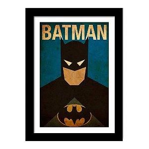 Quadro Decorativo Super Heróis para Quarto Liga da Justiça - Batman - DC Comics