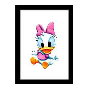 Quadro Decorativo para Quarto Infantil Margarida Baby Disney Kids