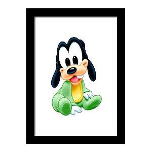 Quadro Decorativo para Quarto Infantil Pateta Baby Disney Kids