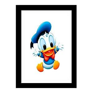 Quadro Decorativo para Quarto Infantil Pato Donald Baby Disney Kids