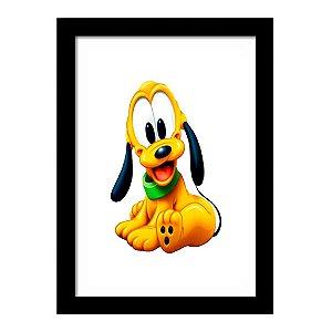 Quadro Decorativo para Quarto Infantil Pluto Baby Disney Kids