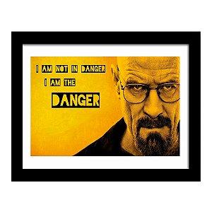 Quadro Decorativo Série Breaking Bad em MDF - Danger