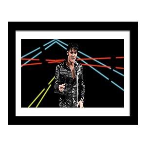 Quadro Decorativo para Sala em MDF Rock - Elvis