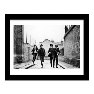 Quadro Decorativo para Sala em MDF Rock - Beatles Vintage