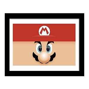 Quadro Decorativo para Quarto em MDF Super Mario - Bros