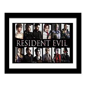 Quadro Decorativo para Quarto em MDF Game - Resident Evil 7