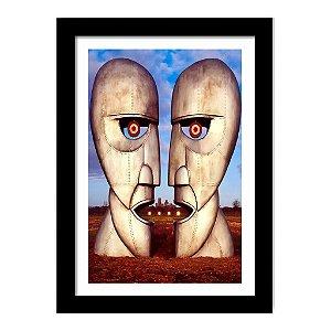 Quadro Decorativo para Sala em MDF Rock - Pink Floyd