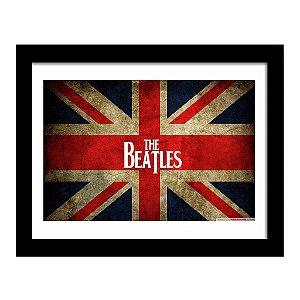 Quadro Decorativo para Sala em MDF Rock - Beatles Inglaterra