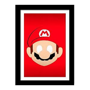 Quadro Decorativo para Quarto em MDF Super Mario - Anime