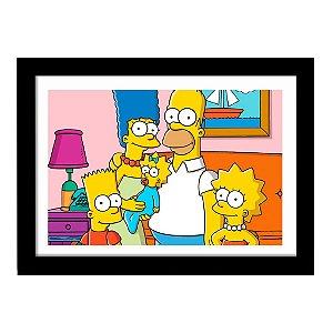 Quadro Decorativo em MDF Filme The Simpsons