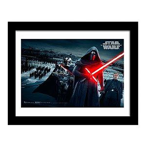 Quadro Decorativo em MDF Filme Star Wars