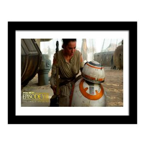 Quadro Decorativo em MDF Star Wars The Force Awakens