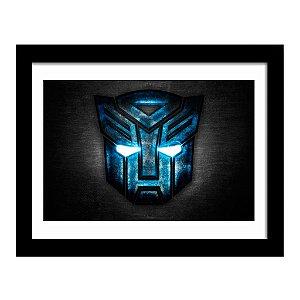 Quadro Decorativo em MDF Transformers Autobots
