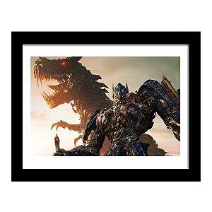 Quadro Decorativo em MDF Transformers A Era da Extinção
