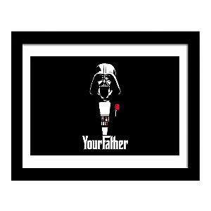 Quadro Decorativo em MDF Filme Your Father