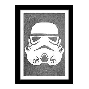 Quadro Decorativo em MDF Star Wars Stormtrooper - Filme
