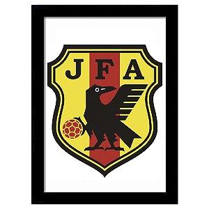 Quadro Decorativo para Quarto e Sala em MDF Escudo Japão