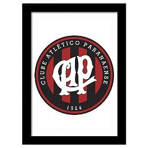 Quadro Decorativo para Sala de Estar em MDF Escudo Atlético