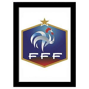 Quadro Decorativo para Sala de Estar em MDF Escudo França