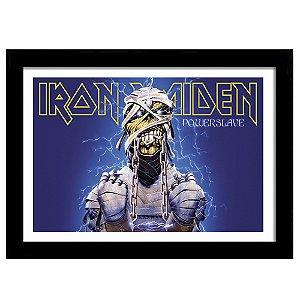 Quadro Decorativo para Sala em MDF Heavy Metal - Iron Maiden
