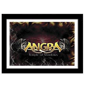 Quadro Decorativo para Sala em MDF Power Metal - Banda Angra