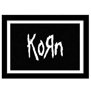 Quadro Decorativo para Sala em MDF Nu Metal - Korn