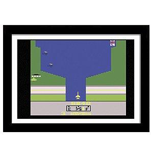 Quadro Decorativo para Quarto em MDF River Raid Atari