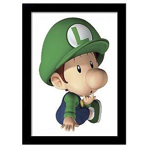 Quadro Decorativo para Quarto em MDF Luigi Baby