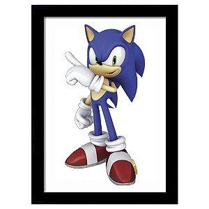 Quadro Decorativo para Quarto em MDF Super Sonic