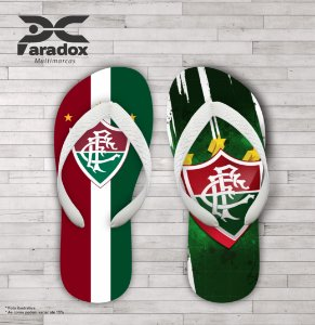 Chinelo Personalizado - Fluminense - Ref. 03700