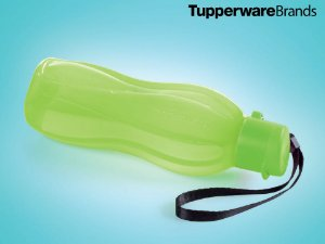 Tupperware Eco Tupper Garrafa 500ml Flip Plus - Verde Neon