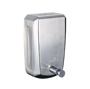 Saboneteira Manual em Aço Inox Escovado 800ml Noble - Biovis